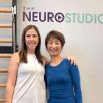 The Neuro Studioにてミーガン・コッペル先生と